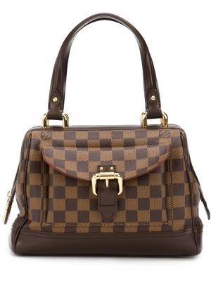 Монограммная сумка-тоут Louis Vuitton Vintage. Цвет: коричневый