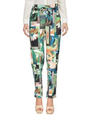 Повседневные брюки FUN &. Цвет: зеленый