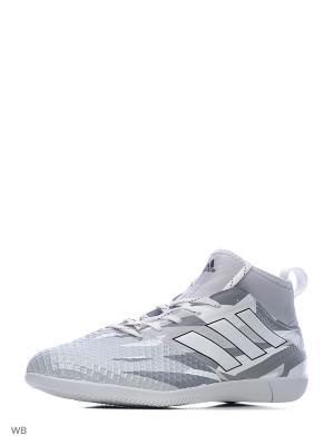 Футбольные бутсы (для зала) муж. ACE 17.3 PRIMEMESH Adidas. Цвет: серый