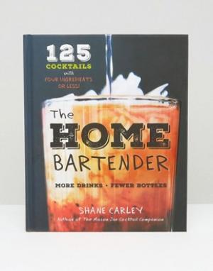 Books Книга рецептов коктейлей Home Bartender. Цвет: мульти