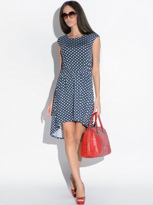 Платье Colambetta. Цвет: синий, белый