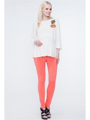 Блузка TUTTA MAMA. Цвет: кремовый