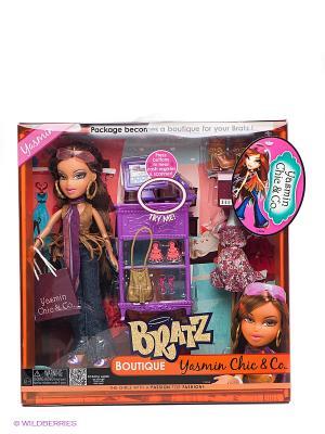 Игровой набор Принцесса Жасмин BRATZ. Цвет: коричневый, фиолетовый