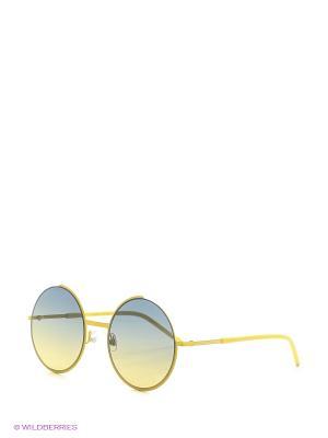 Солнцезащитные очки MARC JACOBS. Цвет: желтый, черный