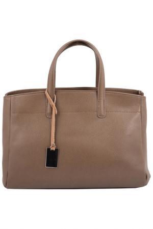 Сумка FLORENCE BAGS. Цвет: коричневый