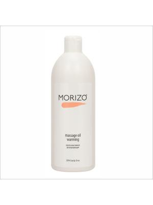 Morizo масло массажное для тела разогревающее. Цвет: светло-желтый, прозрачный