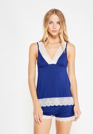 Пижама Deseo. Цвет: синий