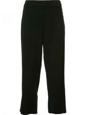 Укороченные брюки прямого кроя Cushnie Et Ochs. Цвет: чёрный