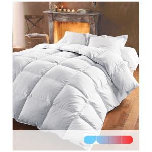 Одеяло из натурального пуха 370 г/м², 50 % пуха, обработка против клещей BEST. Цвет: белый