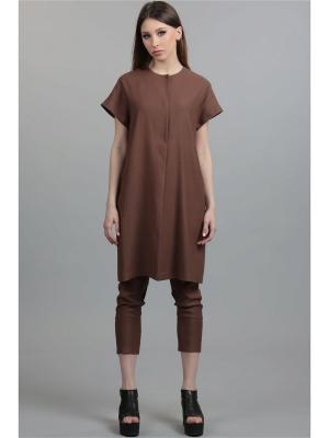 Жилет ЭНСО. Цвет: коричневый