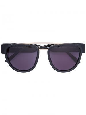 Солнцезащитные очки Sodapop Smoke X Mirrors. Цвет: чёрный