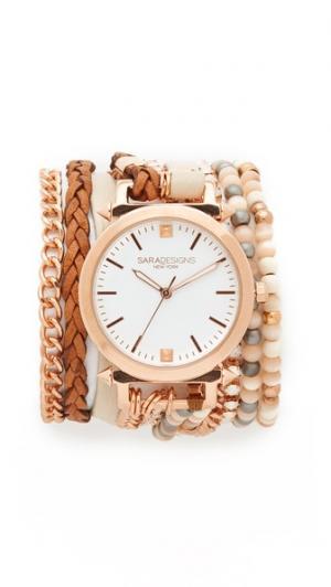 Часы-браслет Caty Sara Designs