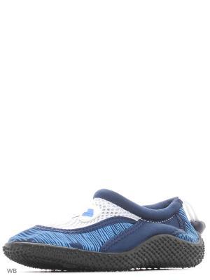 Аквасоки Trespass. Цвет: темно-синий, белый