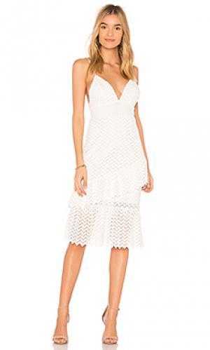 Платье enida SAYLOR. Цвет: белый