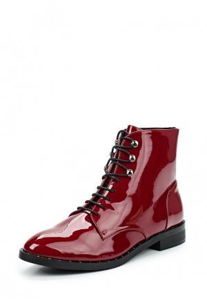 Ботинки Corina. Цвет: красный