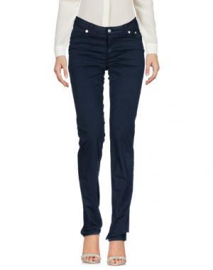 Повседневные брюки SIVIGLIA WHITE. Цвет: стальной серый