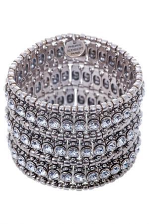 Браслет Philippe Audibert. Цвет: серебряный