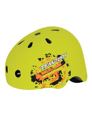Летний шлем TEMPISH SKILLET Z black. Цвет: зеленый