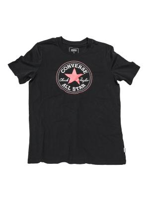 Футболка Core Solid Chuck Patch Crew Converse. Цвет: черный