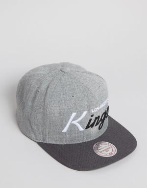 Mitchell & Ness Бейсболка Tri Pop LA Kings. Цвет: серый