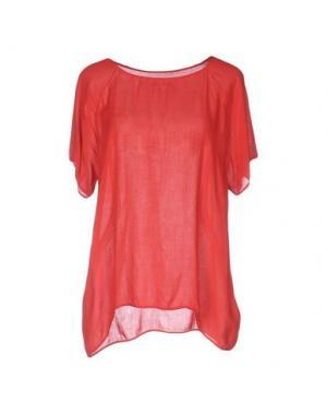 Блузка BRAND UNIQUE. Цвет: красный