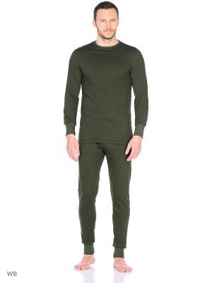 Домашний костюм S.Berg. Цвет: оливковый