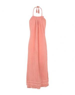 Длинное платье JENS PIRATE BOOTY. Цвет: лососево-розовый