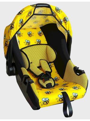 Детское автомобильное кресло ЭГИДА коллекция ART SIGER. Цвет: желтый