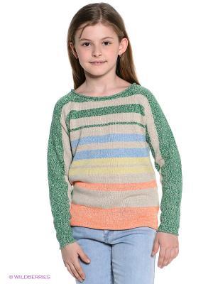 Джемпер American Outfitters. Цвет: светло-бежевый, светло-желтый, оранжевый, зеленый, голубой