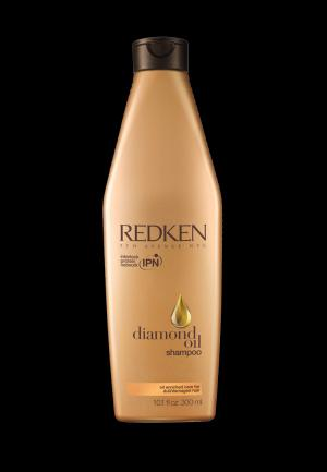 Шампунь Diamond Oil Redken. Цвет: золотой