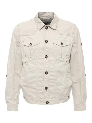Куртка Finn Flare. Цвет: светло-бежевый