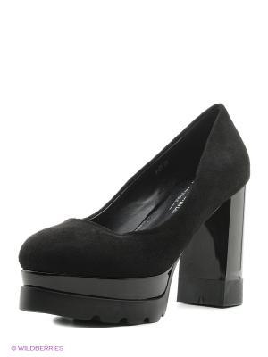 Туфли BALD EAGLE. Цвет: черный
