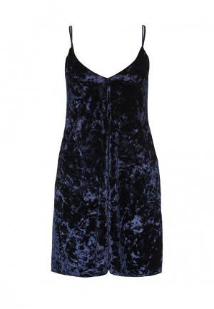 Платье Edge Street. Цвет: синий