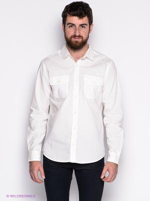 Рубашка LEE COOPER. Цвет: белый