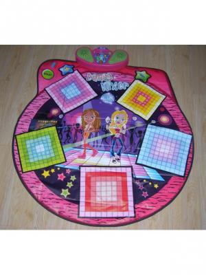 Коврик музыкальный Супер диско Amico. Цвет: голубой, розовый