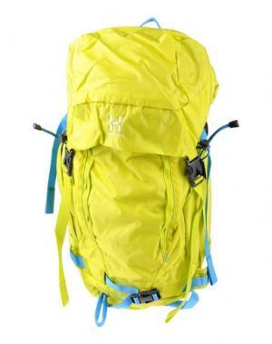 Рюкзаки и сумки на пояс HAGLÖFS. Цвет: кислотно-зеленый