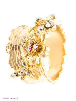 Кольцо Kameo-bis. Цвет: золотистый, белый