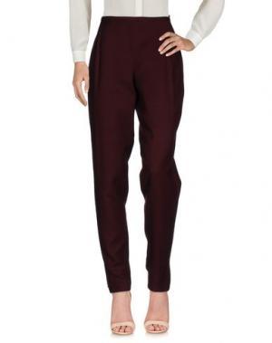 Повседневные брюки JEAN PAUL GAULTIER. Цвет: красно-коричневый
