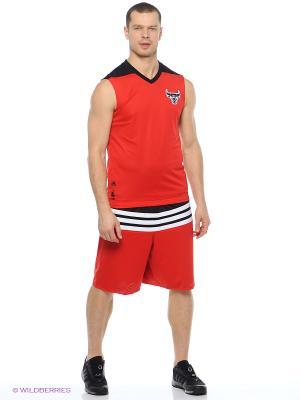 Майка Smr Rn Rev Sl Adidas. Цвет: красный