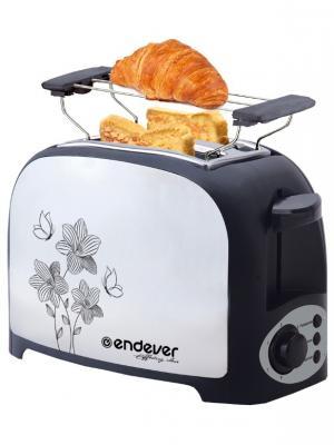 Электрический тостер Endever. Цвет: белый