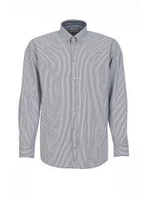Рубашка Pre End. Цвет: темно-синий