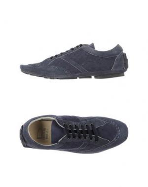 Низкие кеды и кроссовки ERNESTO DOLANI. Цвет: темно-синий