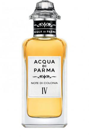 Одеколон Note Di Colonia IV Acqua Parma. Цвет: бесцветный