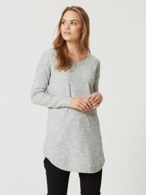 Туника Vero moda. Цвет: серый меланж