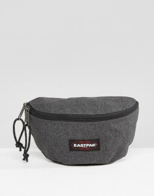 Eastpak Джинсовая сумка-кошелек на пояс Springer. Цвет: черный