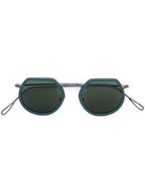 Солнцезащитные очки Pierre Kyme. Цвет: зелёный