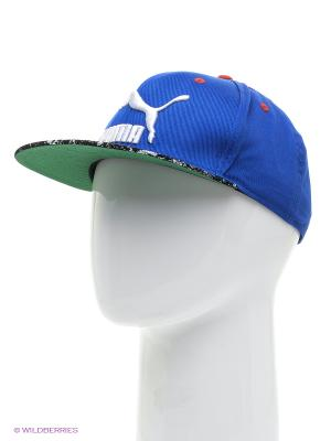 Бейсболка LS ColourBlock SnapBack Puma. Цвет: синий
