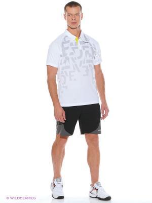Футболка-поло Ari Polo Shirt HEAD. Цвет: белый