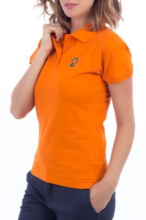 Футболка-поло POLO CLUB С.H.A.. Цвет: оранжевый
