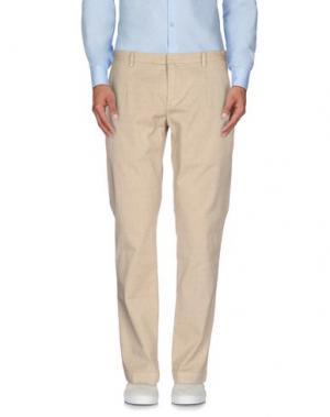 Повседневные брюки ..,BEAUCOUP. Цвет: бежевый